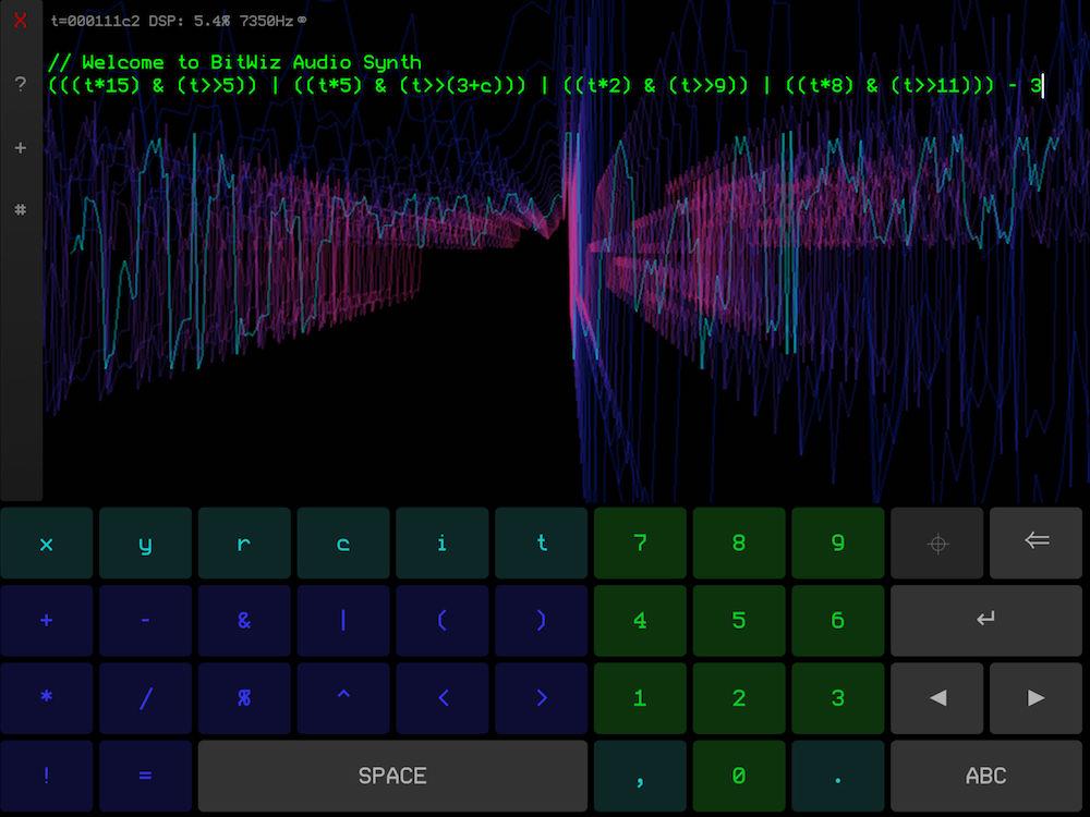 BitWiz Audio Synth   Kymatica com